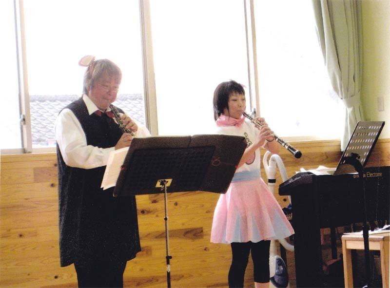 2008年8月31日 熊本県御船町 昭和保育園でのコンサート