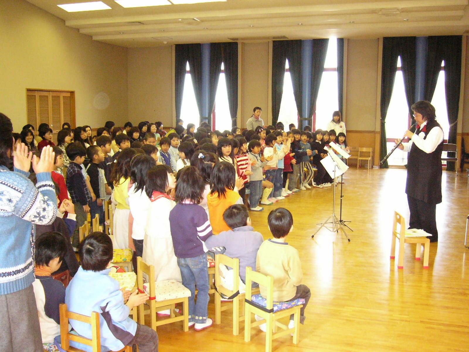 広島女学院付属ゲーンズ幼稚園コンサート