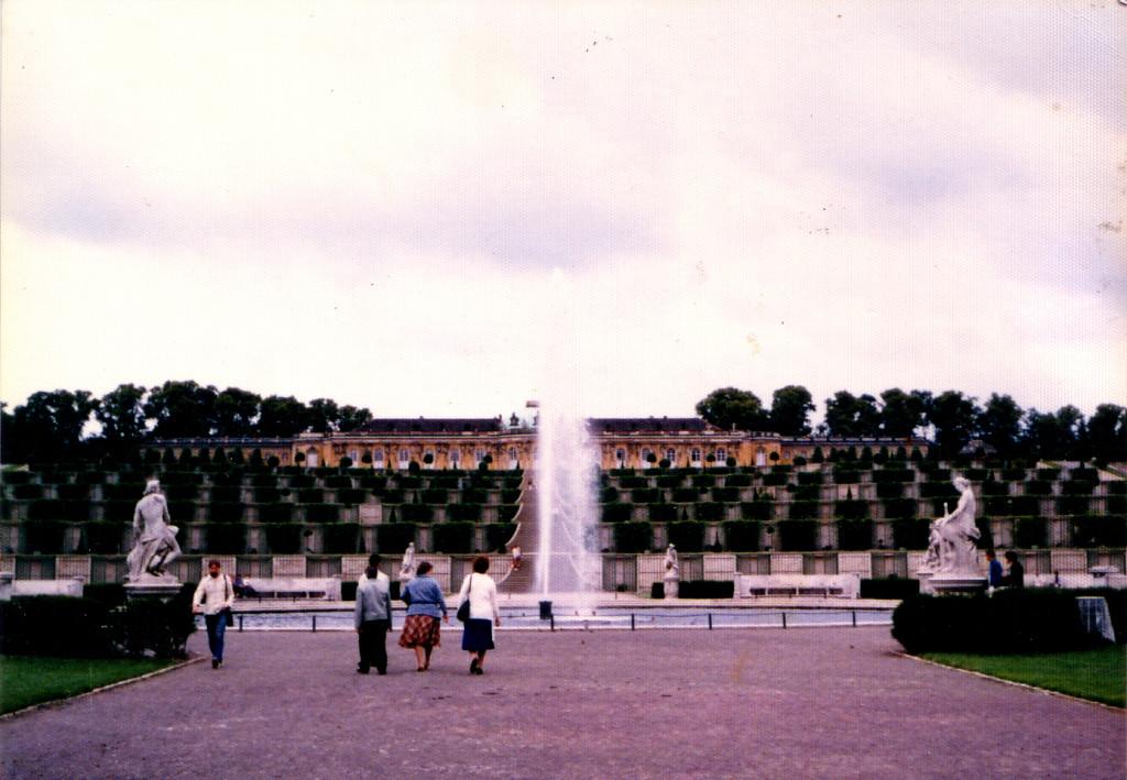 ベルリンの隣町、ポツダム・サンスーシ宮殿