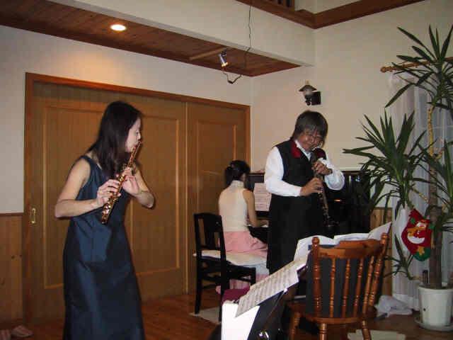 2006年12月23日東広島市福富町 パストラーレ サクラヤ コンサート