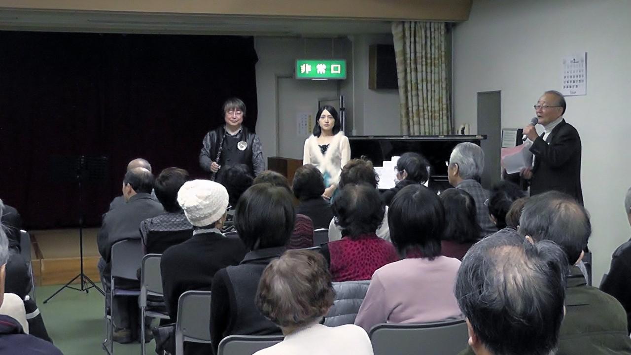 2013年2月17日 広島県廿日市市 阿品老人クラブ主催コンサート