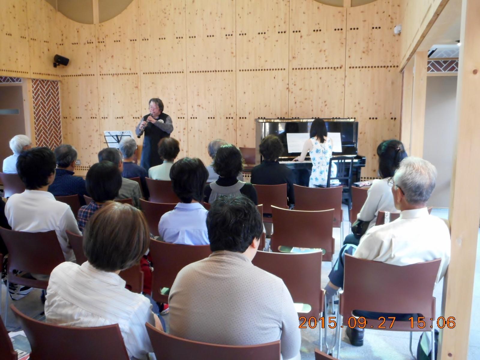 岡山県、矢掛町 やかげ町家交流館 谷山サロンコンサート