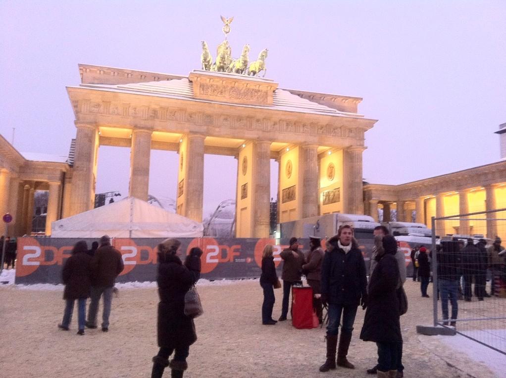 2010~11年に22年ぶりにベルリンを訪問しました。ブランデンブルグ門を歩いて渡れる!感激しました!