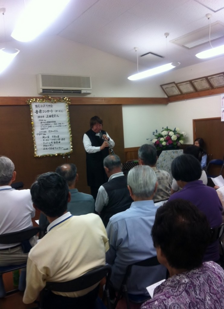2012年6月15日 広島市東区中山鏡が丘福祉会主催コンサート