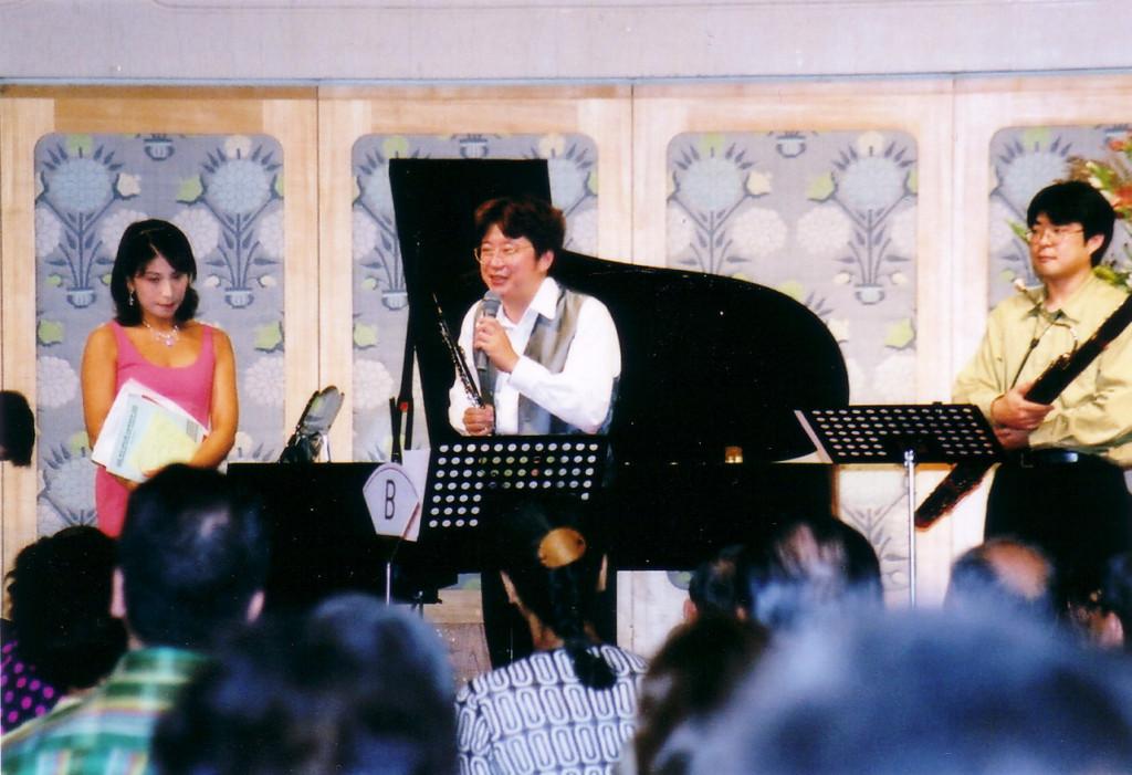 2000年8月25日 上田愛彦サロンリサイタル 広島アンデルセンスカンジナビアホール