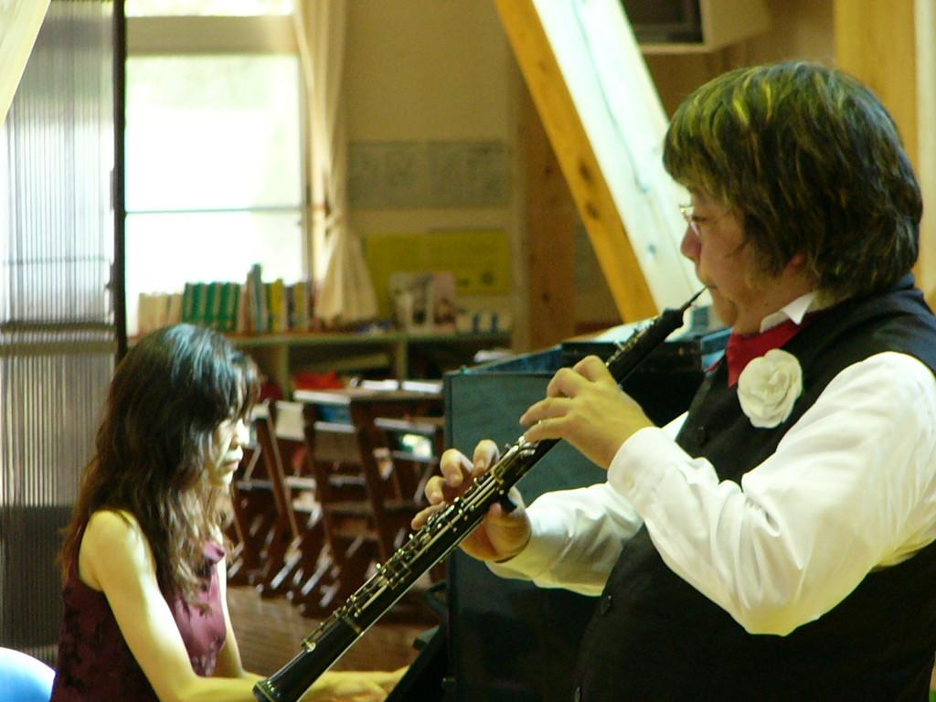 音楽家ユニオン主催あすなろコンサート 2006年10月3日 熊本県天草 下田南小学校