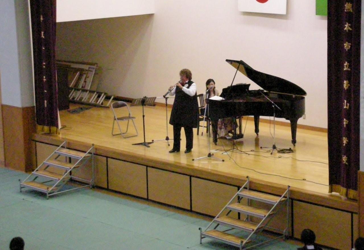 熊本市立帯山中学校創立50周年コンサート