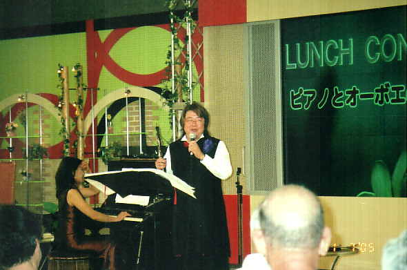 NHK広島放送局主催 ランチコンサート 2005年7月11日 被爆ピアノとの共演!