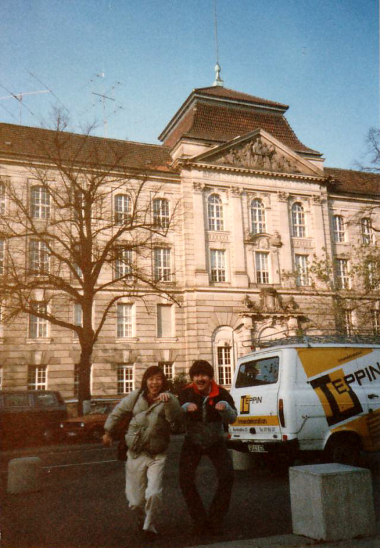 ベルリン芸術大学(Hochschule der Kuenste Berlin)ここで私、研鑽を積んでいました