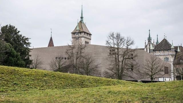 Neue Ansicht des Landesmuseums aus nordwestlicher Richtung