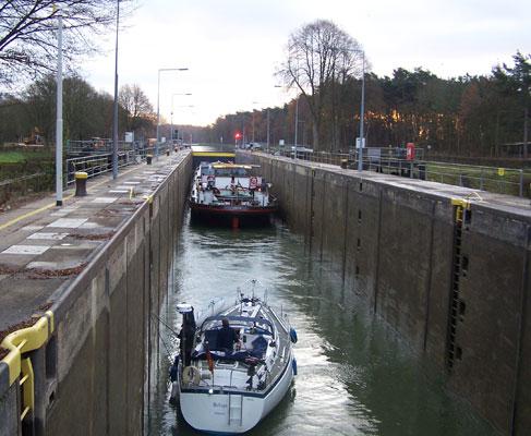 Schleusen am Dortmund-Ems-Kanal
