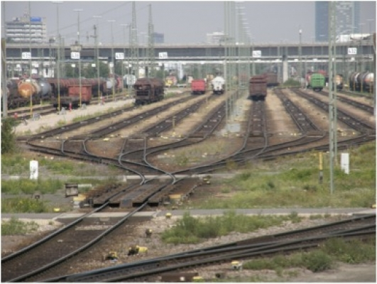 Erneuerung der Zugbildungsanlage Mannheim Rangierbahnhof System Ost/West