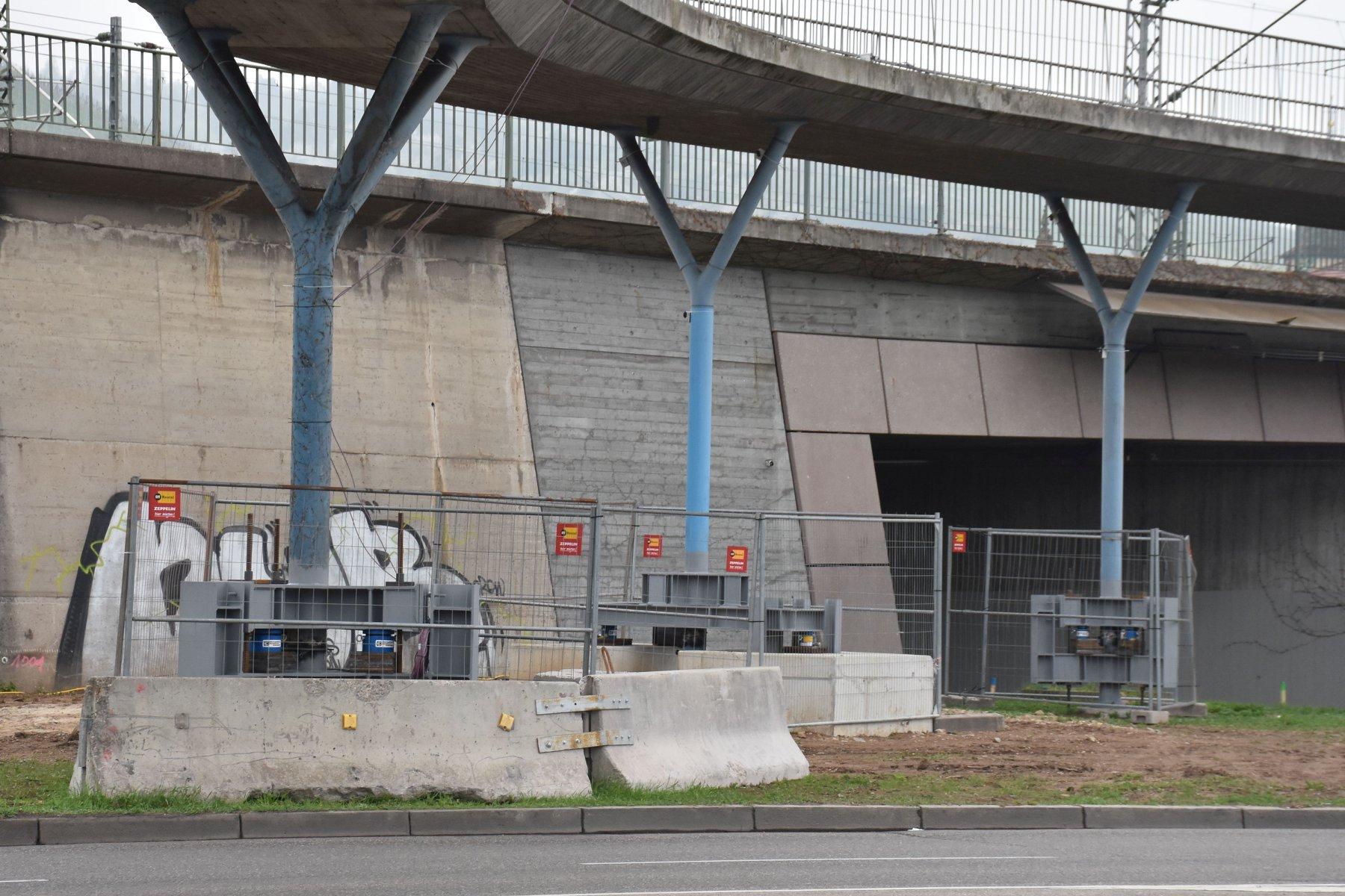 S21 Zuführung Ober- / Untertürkheim - Vortrieb auf der Zielgerade - Innenschale legt richtig los
