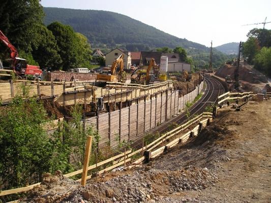 Ortsumgehung in Neckargemünd