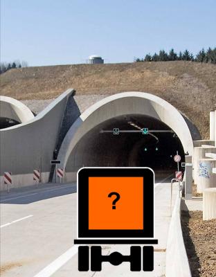 Kategorisierung von Straßentunneln nach ADR