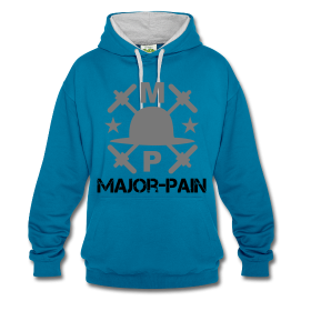 Hoodie Cross - Major Pain - Fitness & Lifestyle - www.major-pain.com