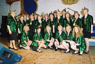 Weiberfastnacht 2006 in der Aula der Realschule