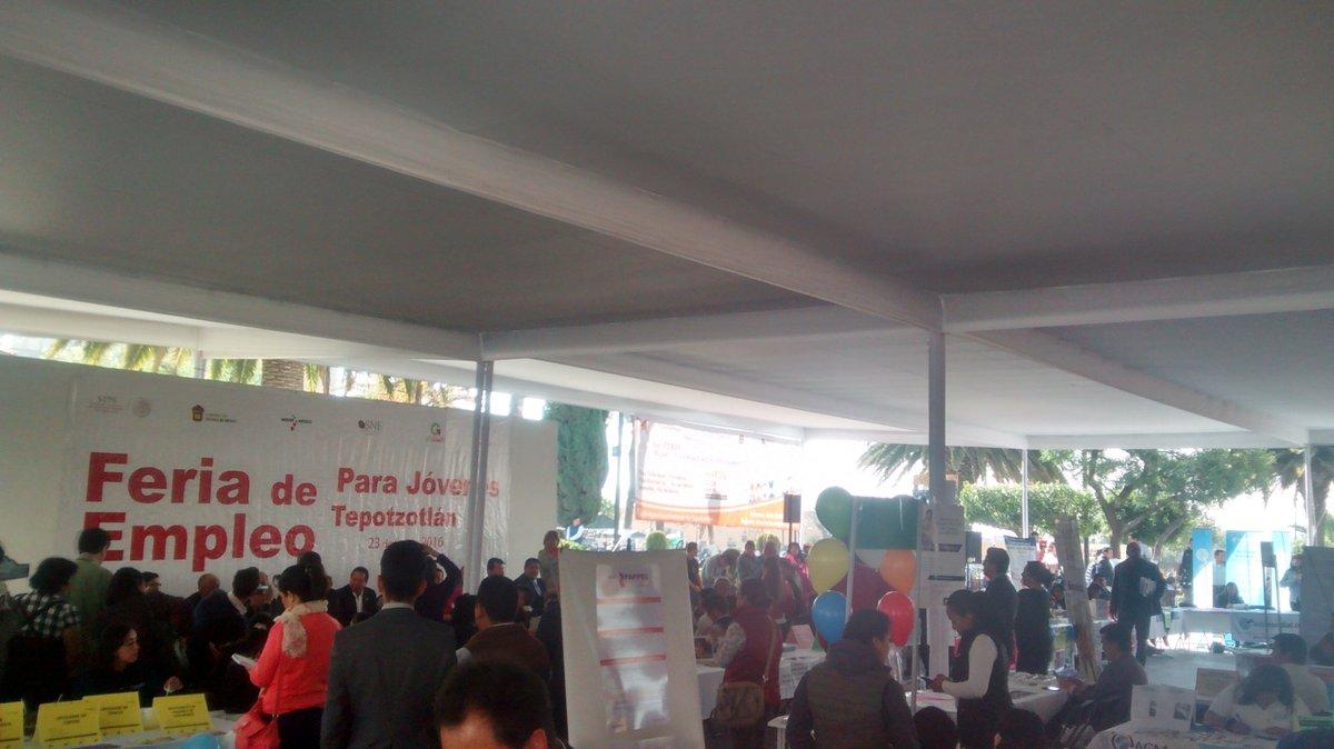 Feria del empleo Tepotzotlán