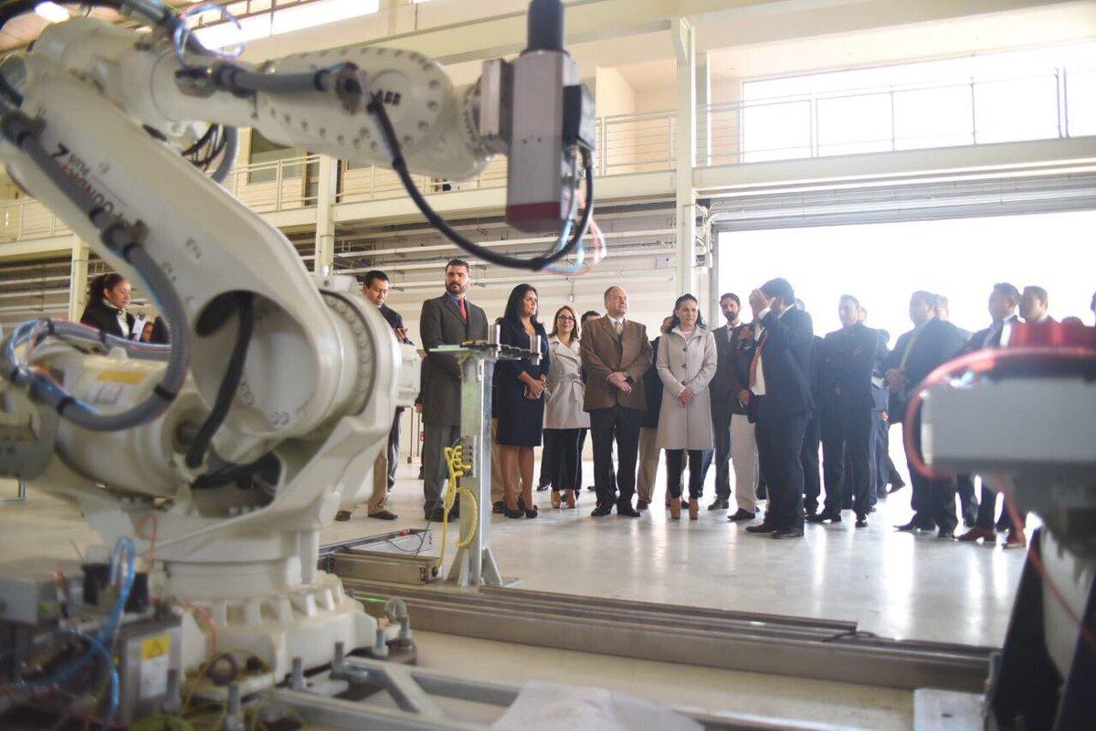 Visita al Centro de Ingeniería y Desarrollo Industrial con SEDECO EdoMéx