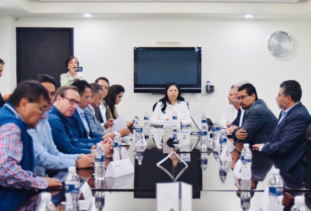 Reunión con la Secretaria de Seguridad del Estado de México