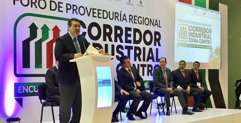 Inauguración del Foro de proveduria con el Gobernador de Tlaxcala