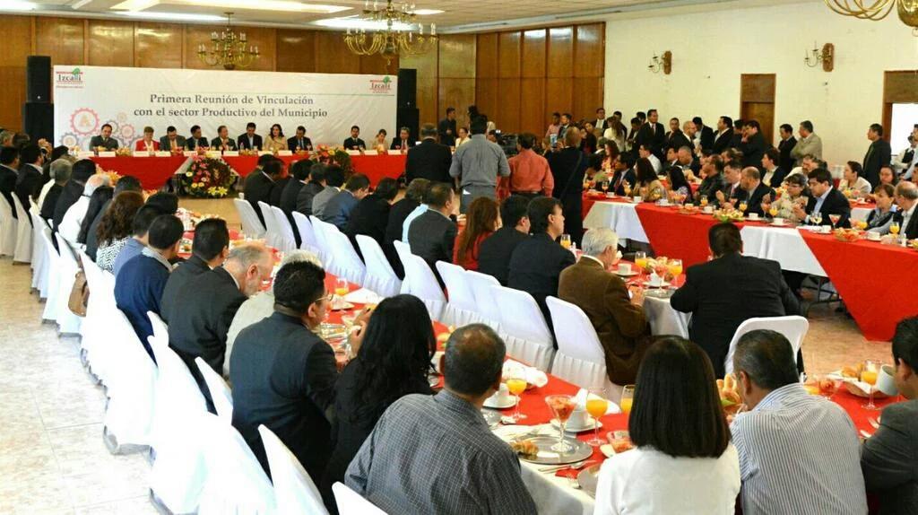 1er reunión sector empresarial Izcallí