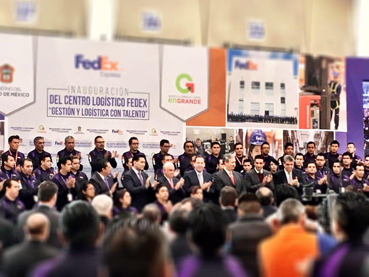 Inauguración CEDIS Fedex Izcallí