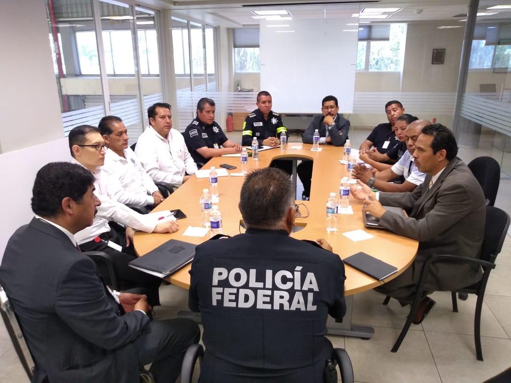 Reuniones de trabajo con autoridades de seguridad pública