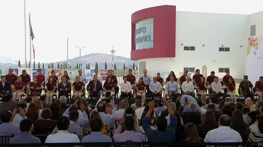 Inauguración Planta Peñafiel Tecámac