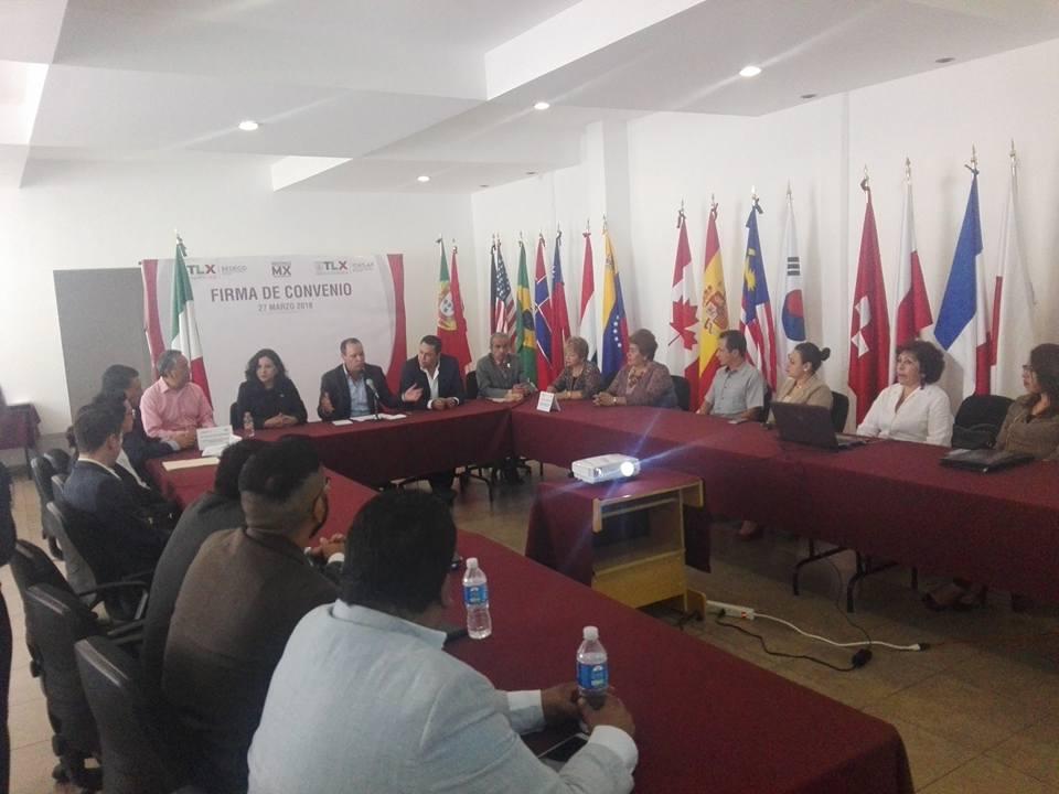 Firma de convenio con SEDECO Tlaxcala
