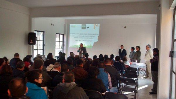 Reunión con empresarios de Tepotzotlán