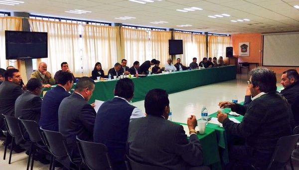 Reunión CESC y PGJEM Canacar-IndustrialesMX