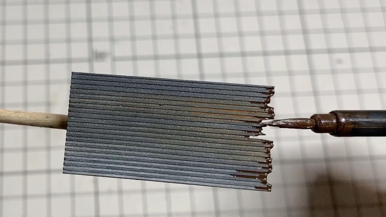 トタン波板の錆び塗装