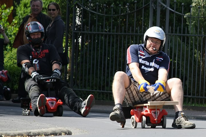 1. Rennen - Sieger Volker Saliger