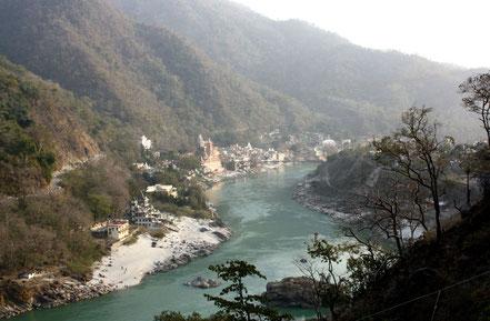 Circuit solidaire de l'Himalaya à Bodhgaya pour aider l'association Gurukul, un atelier-école en Inde.