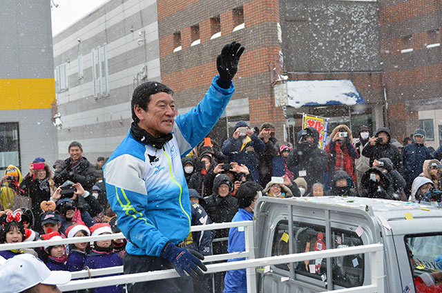 栗山英樹監督パレード