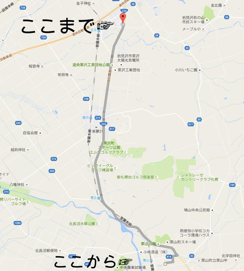 NORTH FARM STOCK アクセス