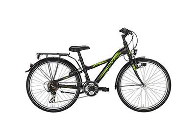 Fahrrad Noxon Boys schwarz matt, Zweirad Kehlenbeck, Delmenhorst