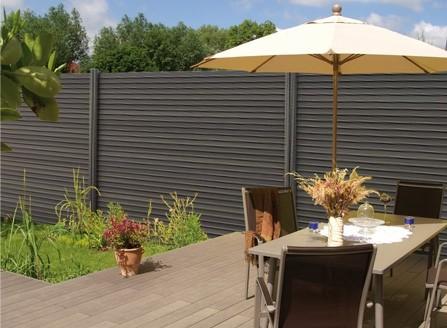 sichtschutz system wpc 1 8 terrasse sichtschutz mehr. Black Bedroom Furniture Sets. Home Design Ideas