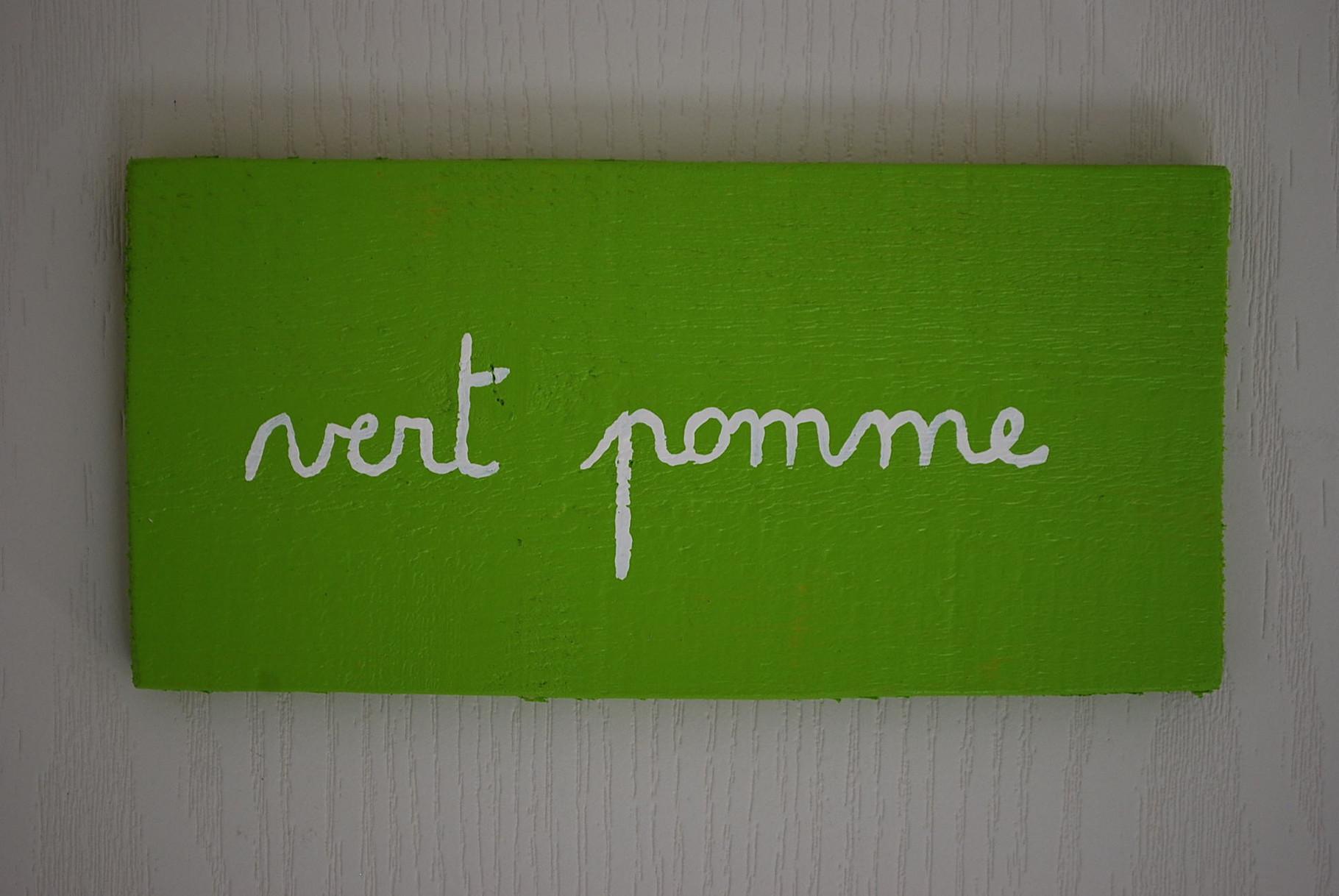 la chambre Vert Pomme - chambres d\'hôtes Au Gré du Vent Normandie