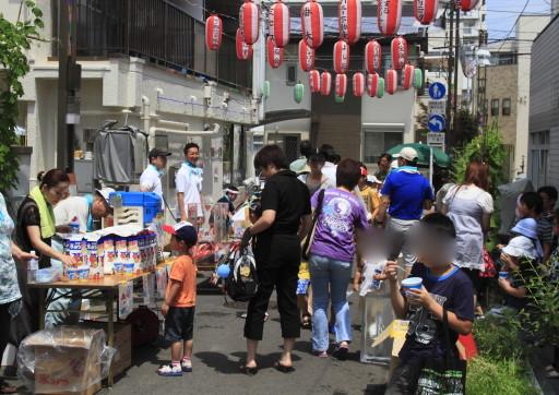 板橋区蓮根 商店街のイベント ザ縁日
