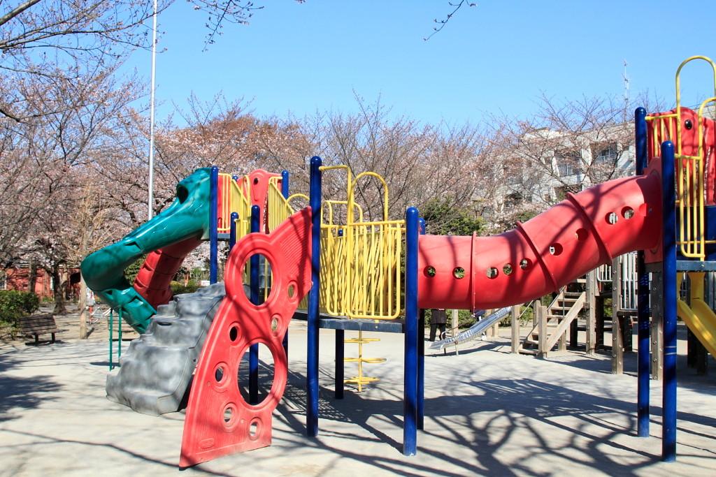 坂下二丁目 城北公園 遊び場