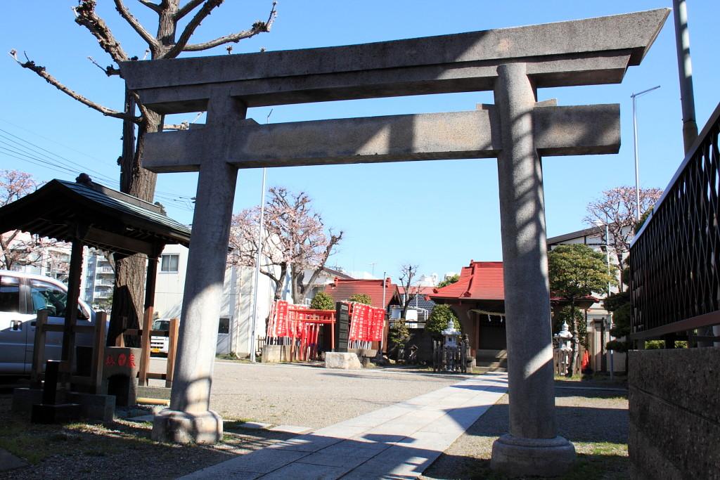 坂下三丁目 稲荷氷川神社