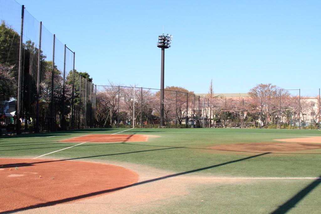 坂下二丁目 城北公園 野球場