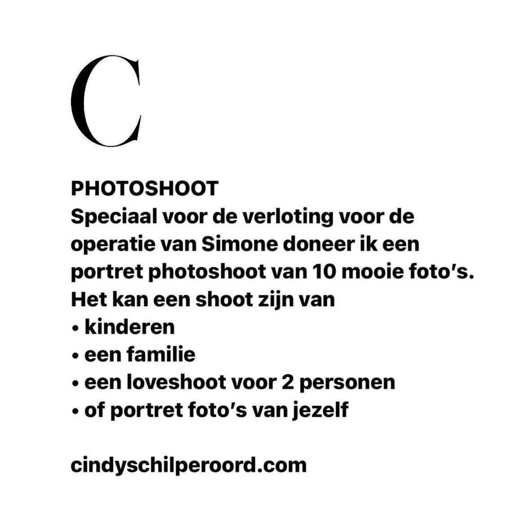Photoshoot - Aangeboden door Cindy Schilperoord Fotografie