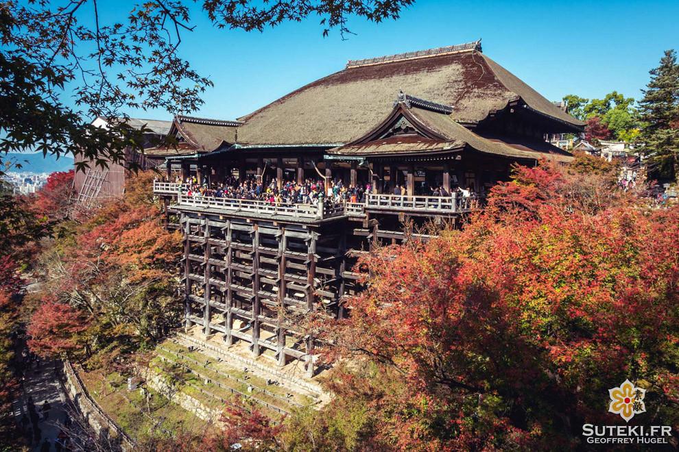Ultra touristique mais définitivement un must à Kyoto, surtout en automne