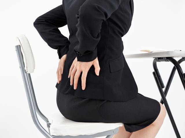 デスクワークと腰痛について(豊田市・夏目接骨院ブログ)