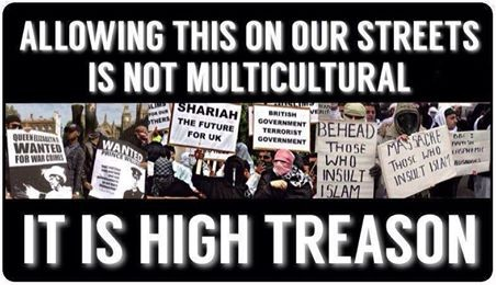 not multiculturallism, but treason