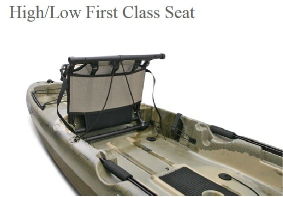 First Class Seat Folded