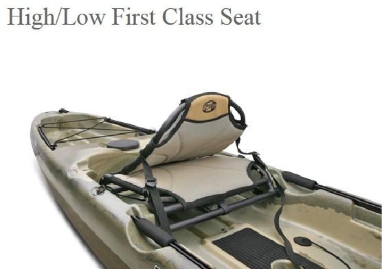 Unfolding First Class Seat
